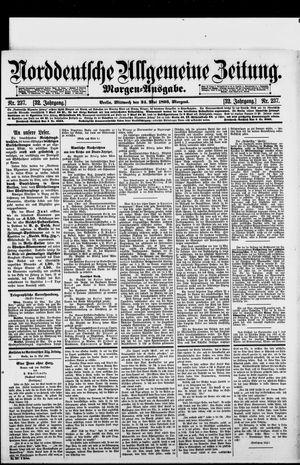 Norddeutsche allgemeine Zeitung vom 24.05.1893