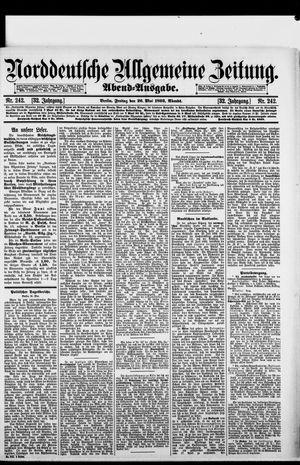 Norddeutsche allgemeine Zeitung vom 26.05.1893