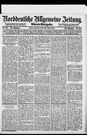 Norddeutsche allgemeine Zeitung vom 27.05.1893
