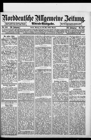 Norddeutsche allgemeine Zeitung vom 29.05.1893