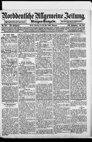 Norddeutsche allgemeine Zeitung vom 30.05.1893
