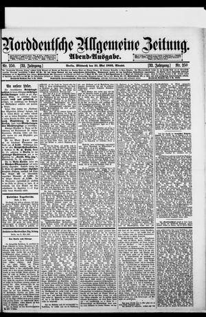Norddeutsche allgemeine Zeitung vom 31.05.1893