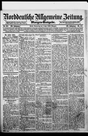 Norddeutsche allgemeine Zeitung vom 01.06.1893