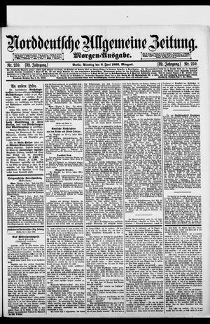Norddeutsche allgemeine Zeitung vom 06.06.1893