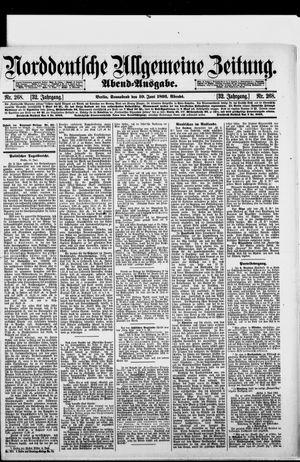 Norddeutsche allgemeine Zeitung vom 10.06.1893