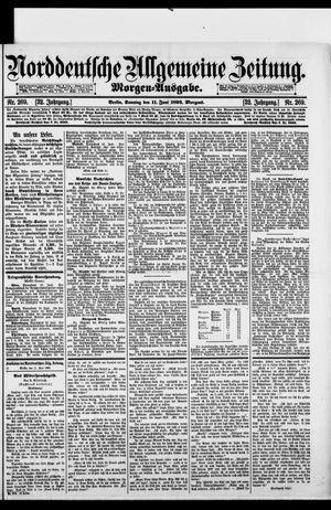 Norddeutsche allgemeine Zeitung vom 11.06.1893