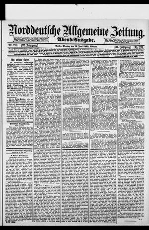Norddeutsche allgemeine Zeitung vom 12.06.1893