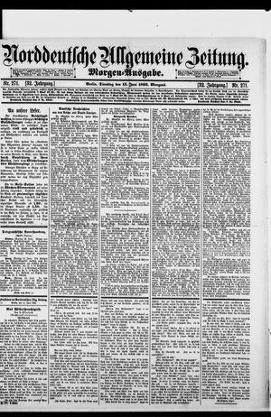 Norddeutsche allgemeine Zeitung vom 13.06.1893