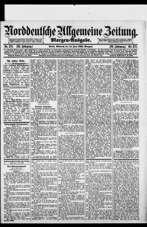 Norddeutsche allgemeine Zeitung vom 14.06.1893