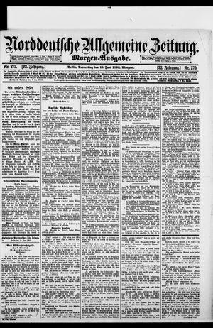 Norddeutsche allgemeine Zeitung vom 15.06.1893