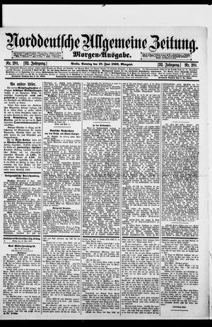 Norddeutsche allgemeine Zeitung vom 18.06.1893