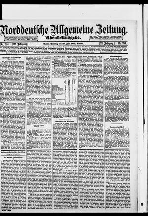 Norddeutsche allgemeine Zeitung vom 20.06.1893