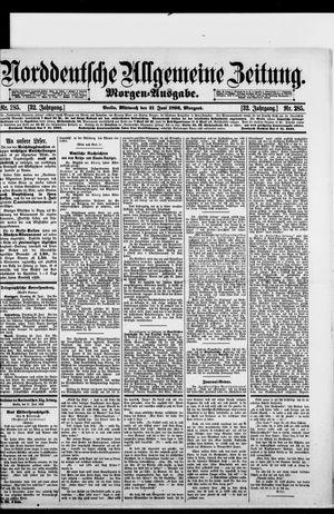 Norddeutsche allgemeine Zeitung vom 21.06.1893
