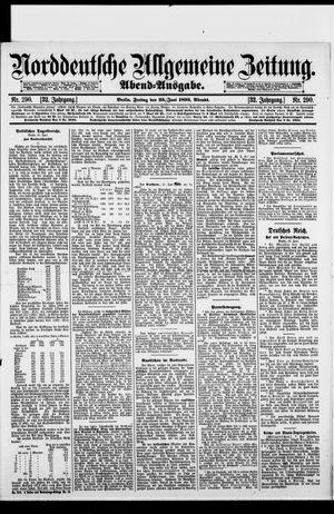 Norddeutsche allgemeine Zeitung on Jun 23, 1893