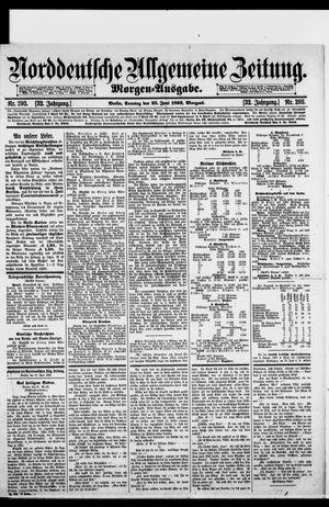 Norddeutsche allgemeine Zeitung vom 25.06.1893