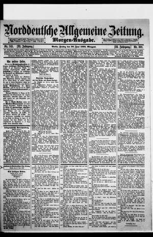 Norddeutsche allgemeine Zeitung vom 30.06.1893