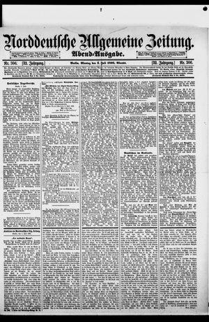 Norddeutsche allgemeine Zeitung vom 03.07.1893
