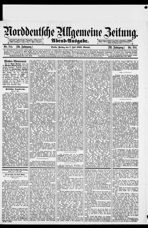 Norddeutsche allgemeine Zeitung vom 07.07.1893