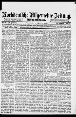 Norddeutsche allgemeine Zeitung on Jul 8, 1893