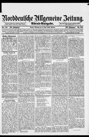 Norddeutsche allgemeine Zeitung vom 11.07.1893