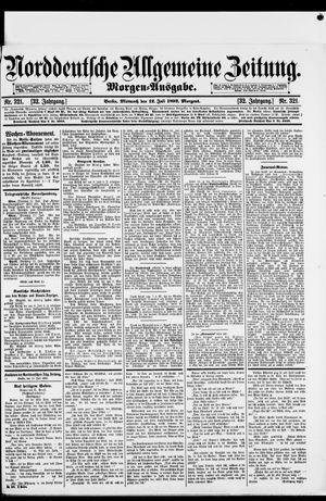 Norddeutsche allgemeine Zeitung vom 12.07.1893