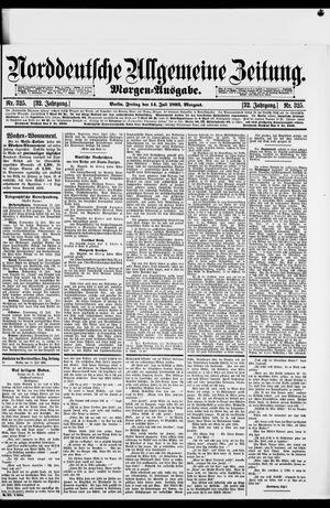 Norddeutsche allgemeine Zeitung vom 14.07.1893