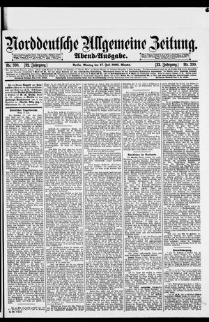 Norddeutsche allgemeine Zeitung on Jul 17, 1893