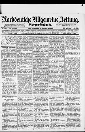 Norddeutsche allgemeine Zeitung vom 19.07.1893