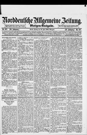 Norddeutsche allgemeine Zeitung on Jul 21, 1893