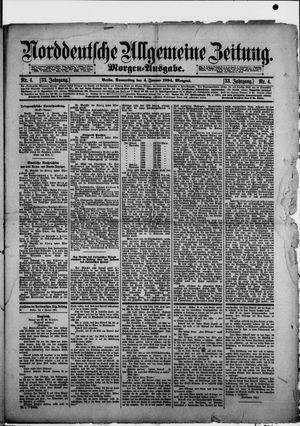 Norddeutsche allgemeine Zeitung vom 04.01.1894