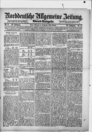 Norddeutsche allgemeine Zeitung vom 10.01.1894
