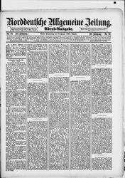 Norddeutsche allgemeine Zeitung (18.01.1894)