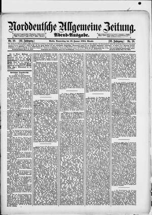 Norddeutsche allgemeine Zeitung vom 18.01.1894