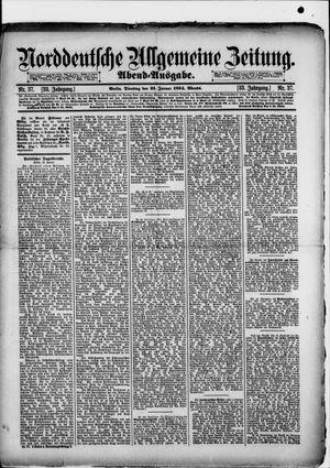 Norddeutsche allgemeine Zeitung vom 23.01.1894