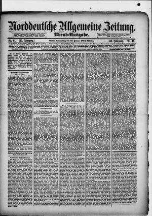 Norddeutsche allgemeine Zeitung vom 25.01.1894