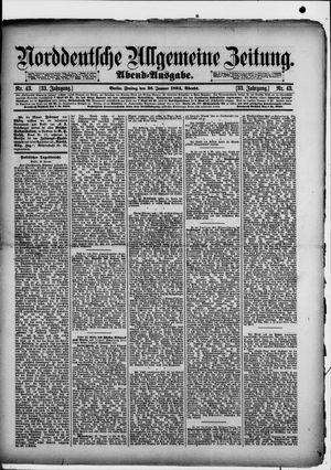 Norddeutsche allgemeine Zeitung vom 26.01.1894