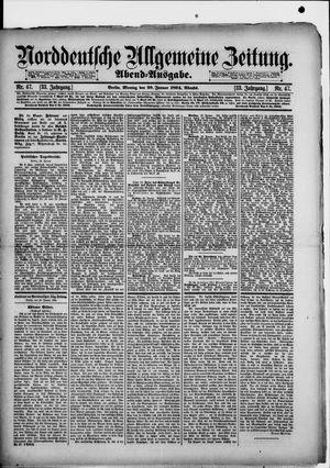 Norddeutsche allgemeine Zeitung vom 29.01.1894