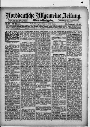 Norddeutsche allgemeine Zeitung vom 30.01.1894