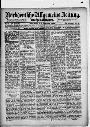 Norddeutsche allgemeine Zeitung vom 31.01.1894