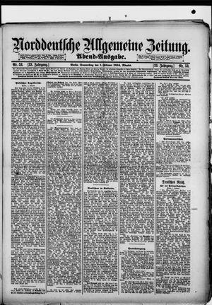 Norddeutsche allgemeine Zeitung vom 01.02.1894