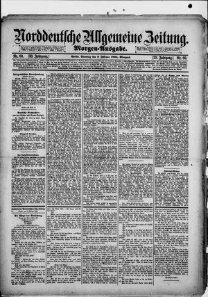 Norddeutsche allgemeine Zeitung vom 06.02.1894