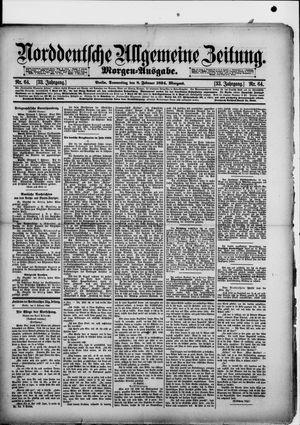 Norddeutsche allgemeine Zeitung vom 08.02.1894