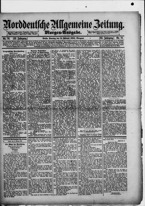 Norddeutsche allgemeine Zeitung vom 11.02.1894