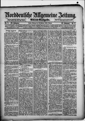 Norddeutsche allgemeine Zeitung vom 12.02.1894
