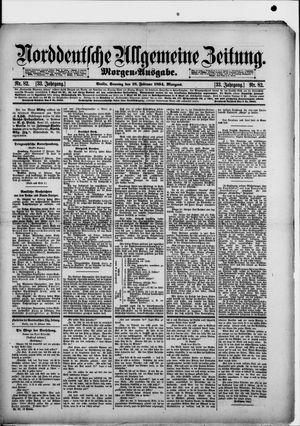 Norddeutsche allgemeine Zeitung vom 18.02.1894
