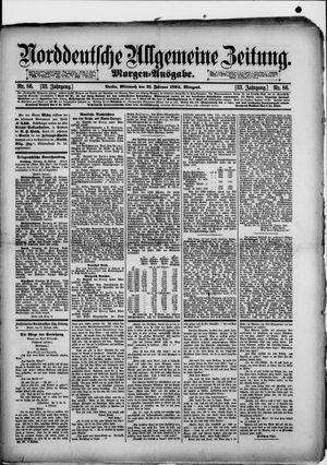 Norddeutsche allgemeine Zeitung vom 21.02.1894