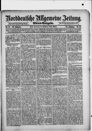 Norddeutsche allgemeine Zeitung vom 22.02.1894