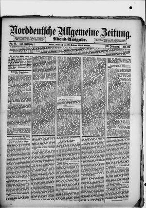 Norddeutsche allgemeine Zeitung vom 28.02.1894
