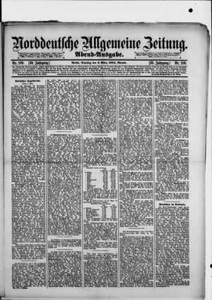 Norddeutsche allgemeine Zeitung vom 06.03.1894