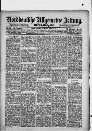 Norddeutsche allgemeine Zeitung vom 08.03.1894